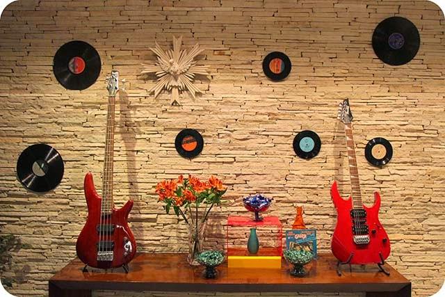 Decoração de Festa de Aniversário Rockabilly & Anos 50