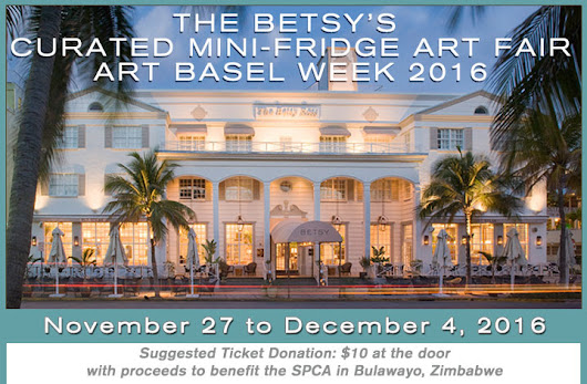 The Betsy Hotel | Curated Mini-Fridge Art Fair | Art Basel Week 2016 | Event Schedules and Tickets