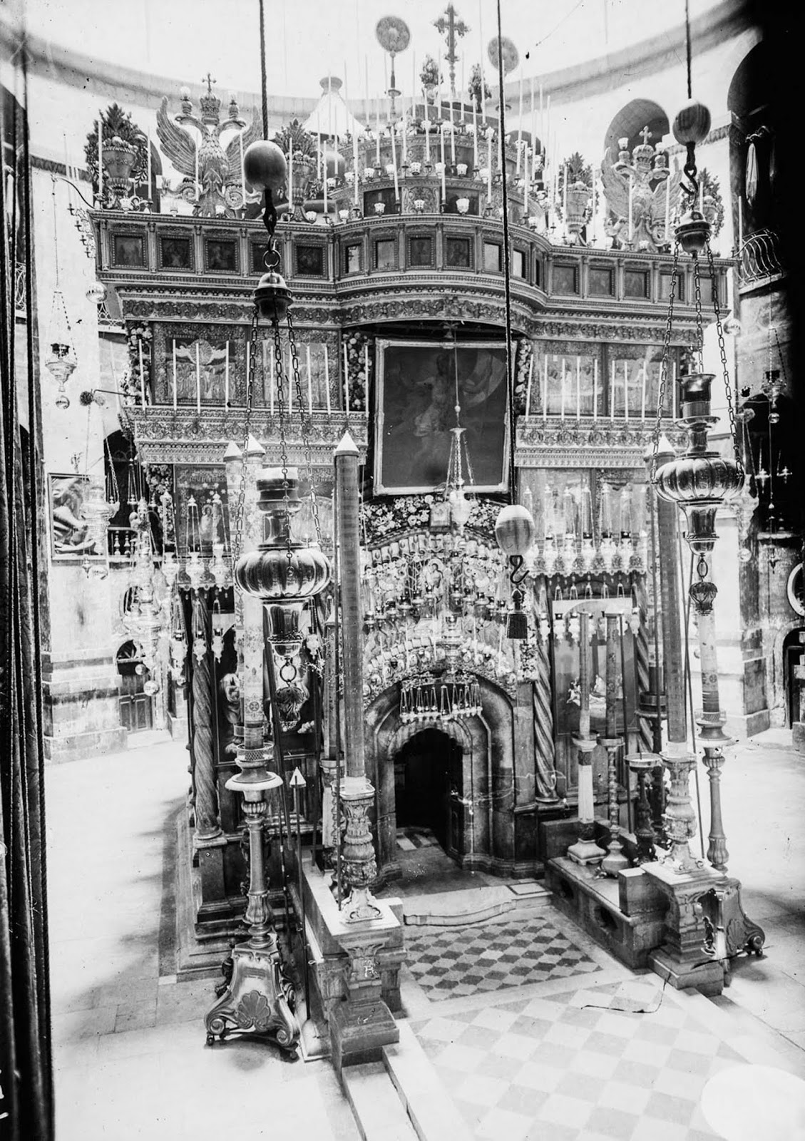 The Church of the Holy Sepulchre. 1915.