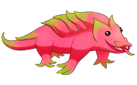 dragon fruit animated clipart