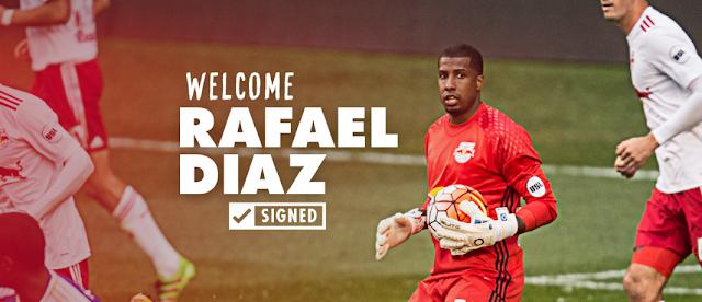 Rafael Díaz llega a la MLS con New York Red Bulls