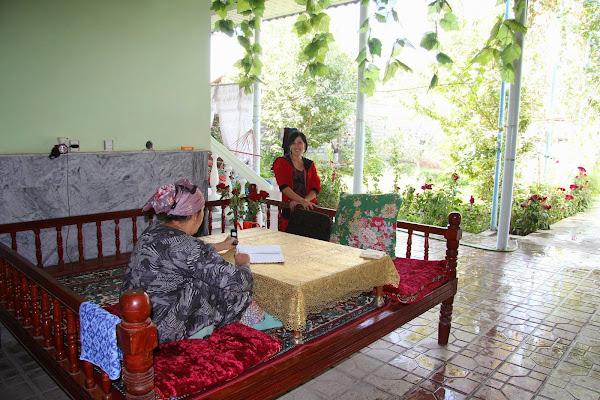 Tadjikistan, Khodjent, Proletar, Gulakandoz, tapshan, tapchane, © L. Gigout, 2012