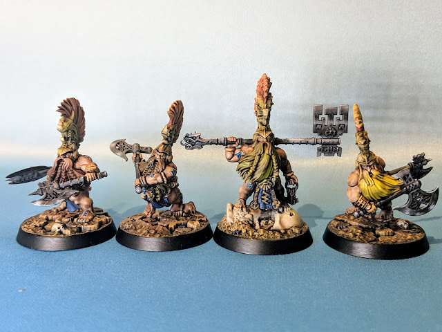 Finished Chosen Axes