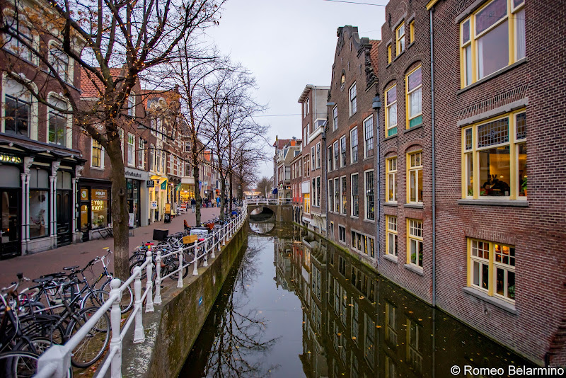 Delft Canal Netherlands Day Trips from Amsterdam or Rotterdam