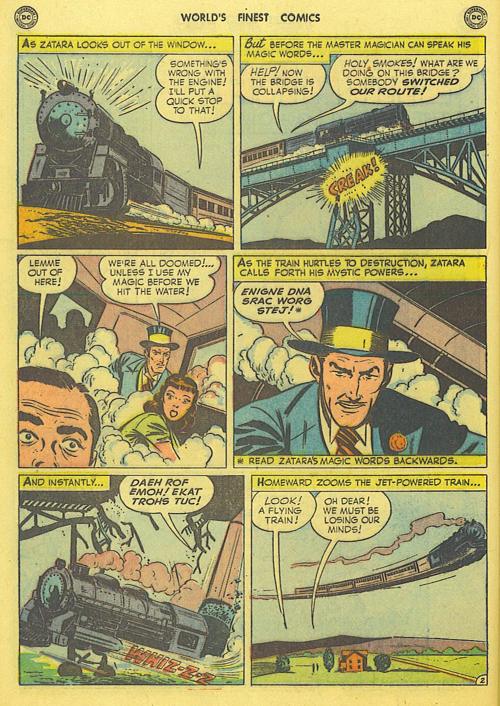 Read online World's Finest Comics comic -  Issue #49 - 53