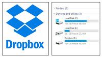 Dropbox o Google Drive come partizione disco del PC