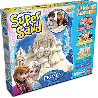 TOYS : JUGUETES - SUPER SAND  Disney Frozen : Juego de arena y moldes  Goliath 2016 | A partir de 4 años  Comprar en Amazon España