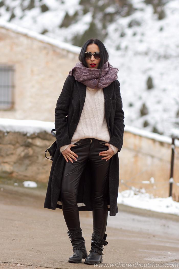 Blogger de moda valenciana de moda belleza estilo viaje a la nieve