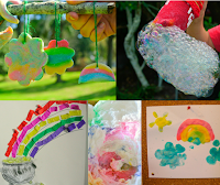 St. Patrick's Day Rainbow Kids' Activities