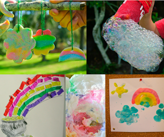 St. Patrick's Day and Spring Kids' Crafts