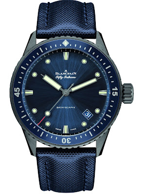 Blancpain Fifty Fathoms Bathyscaphe replica watch