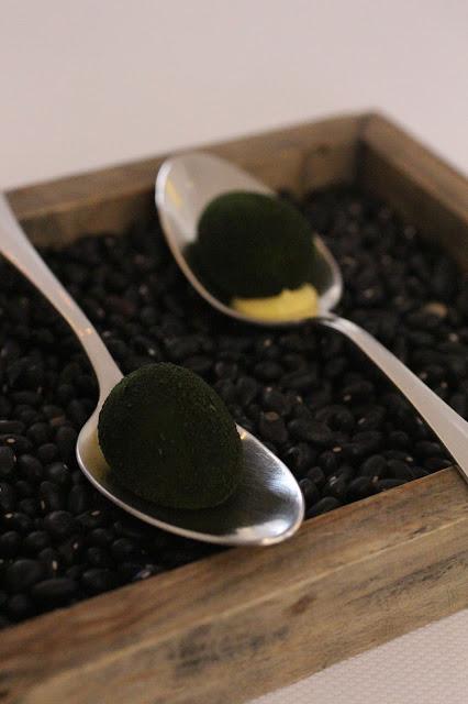 oeufs de caille poudre d'algues