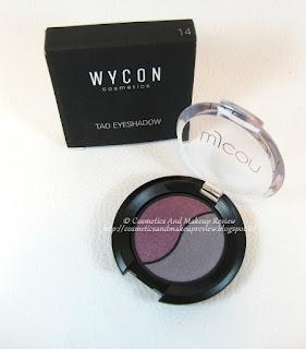 WYCON Cosmetics Tao Eyeshadow n.14 Prugna Satinato/Grigio Malva