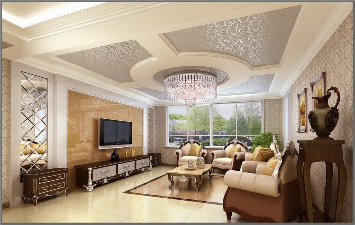Interior Ruang Tamu Mewah  Desainrumahidcom