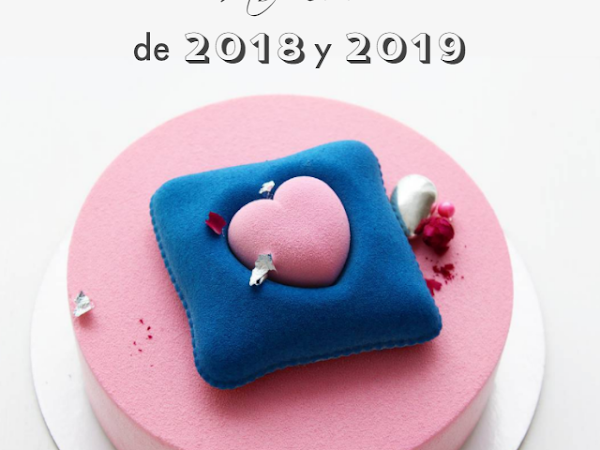Las tartas de boda más cool de 2018 y 2019