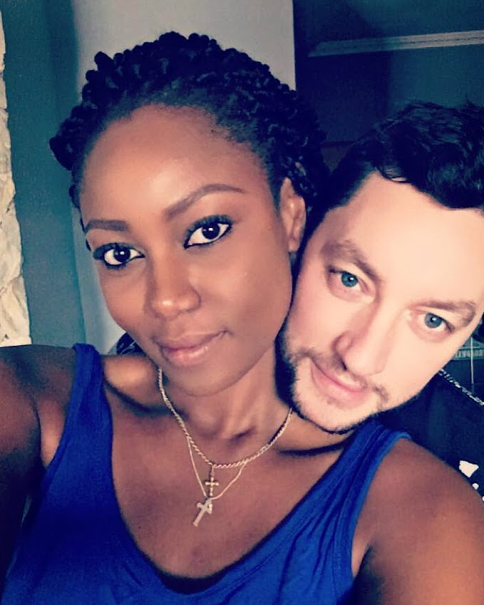 Yvonne Nelson's baby daddy denies being married to estranged Nigerian 'wife'