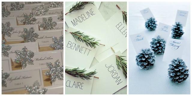 Winietki na wesele zimowe, Organizacja ślubu i wesela zimą, Zimowe Panny Młode, Zimowe inspiracje na ślub, Zimowy Ślub,