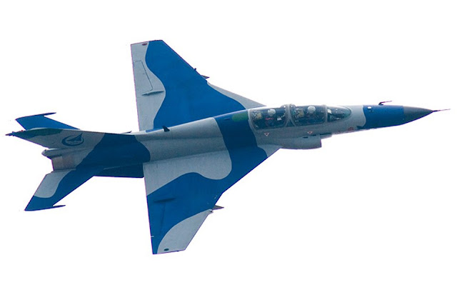 Image Attribute: JL-9 Advanced Jet Trainer in flight