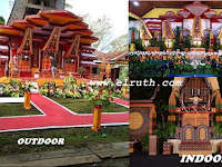 Kumpulan Contoh Bentuk Dekorasi Pelaminan Adat Toraja Terpopuler