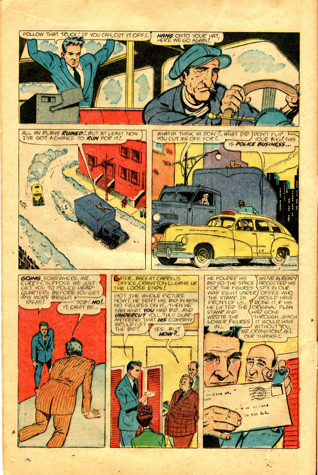 Read online Shadow Comics comic -  Issue #100 - 16