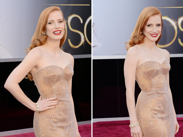 Óscares 2013 | Looks | Jessica Chastain