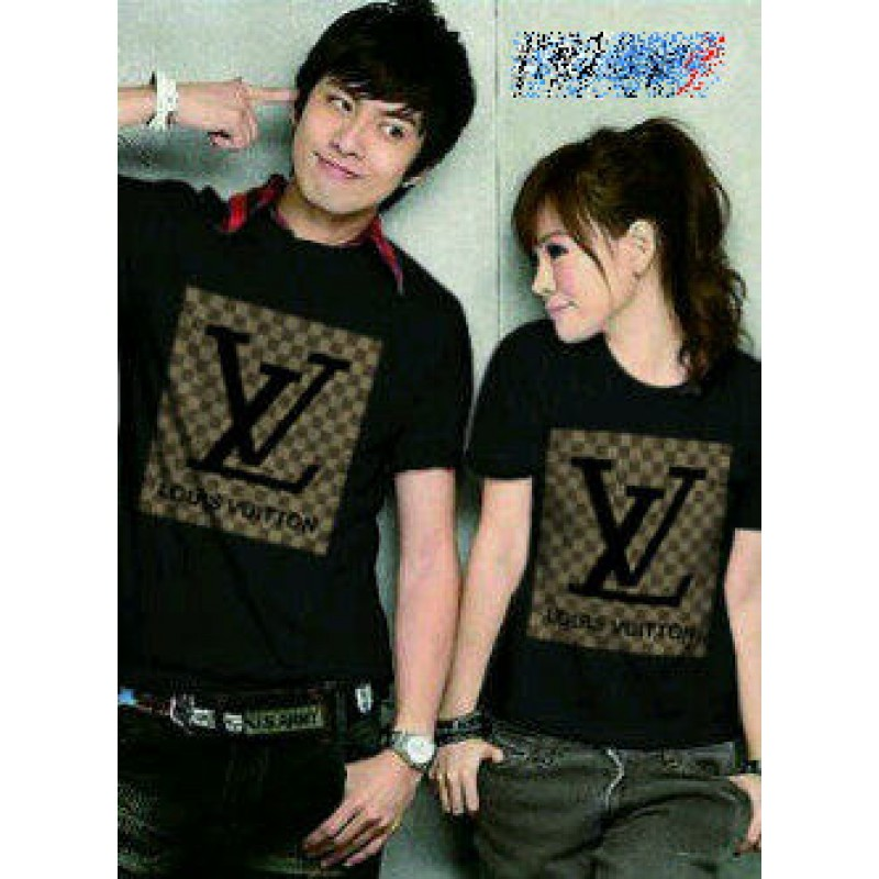 Jual Baju Couple LV Black - 22241