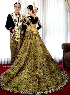 Kebaya Modern Pernikahan Terbaru