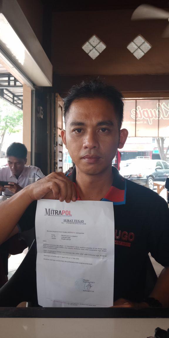 Jurnalis Meliput Judi Dipenjarakan Polsek Helvetia