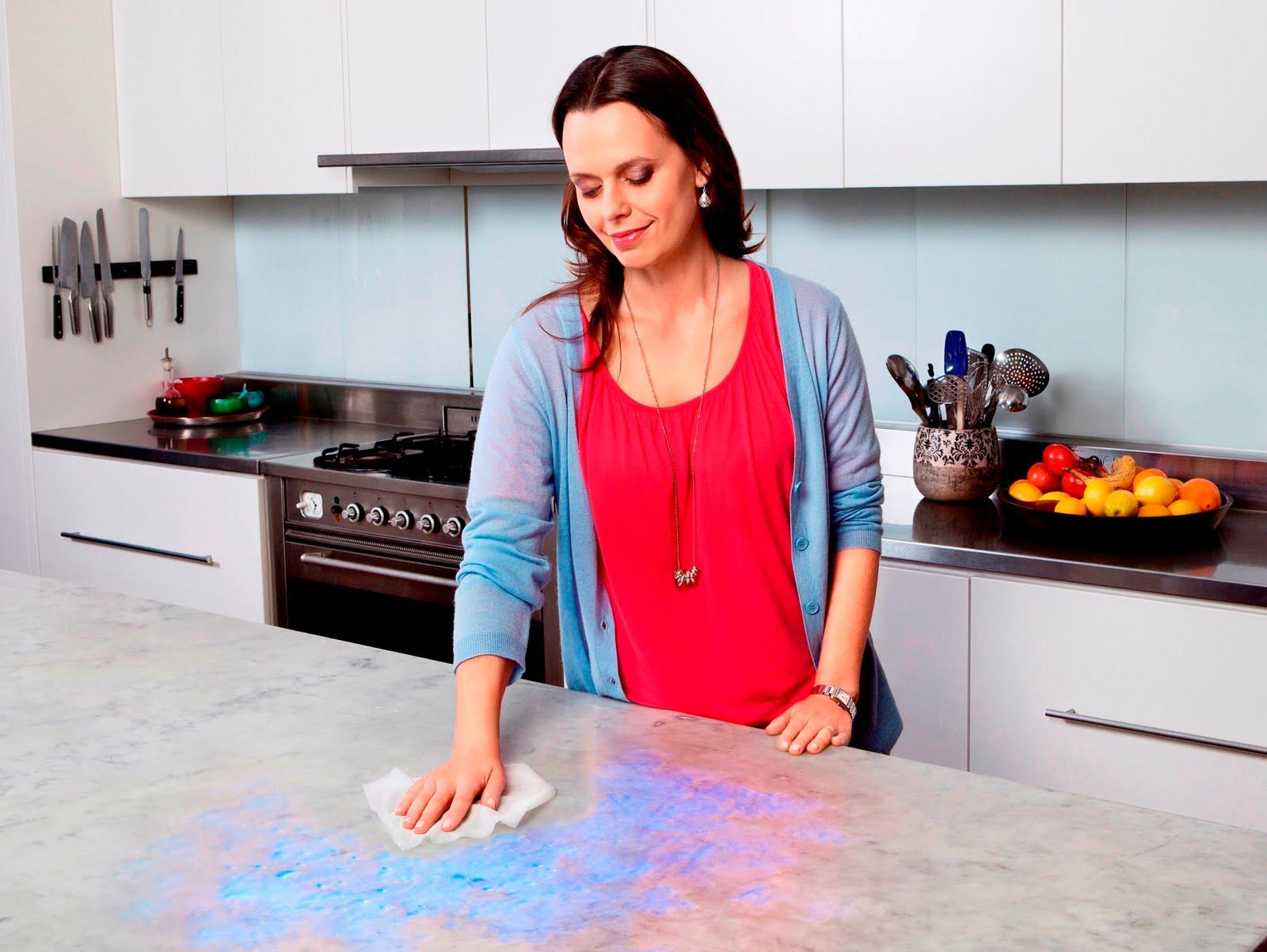 Petua Membersihkan Kotoran Di Dapur
