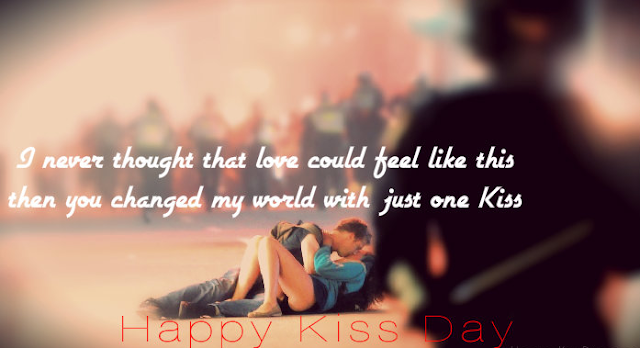 Happy Kiss Day 2017 SMS, Messages, Wishes, Status