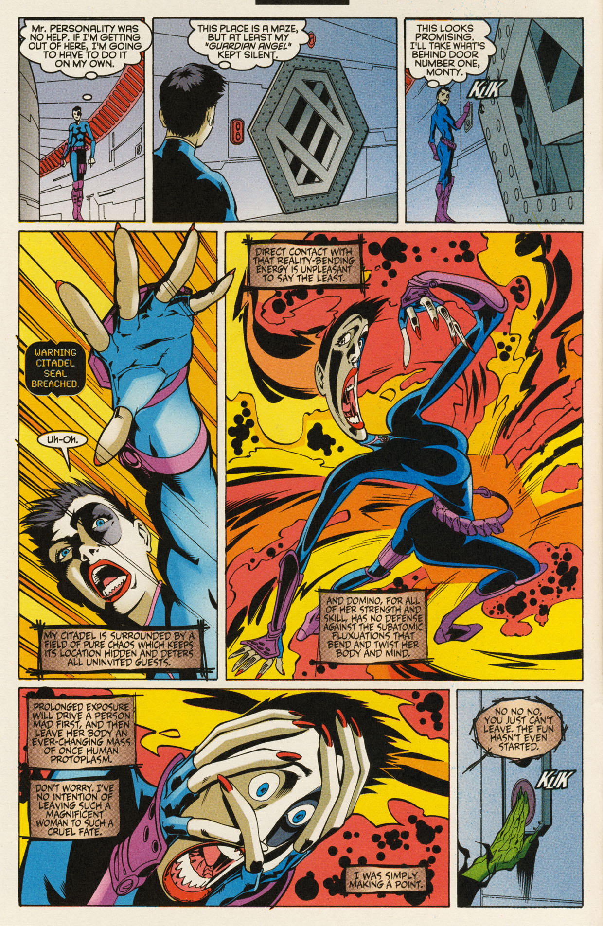 Read online X-Force (1991) comic -  Issue #92 - 10