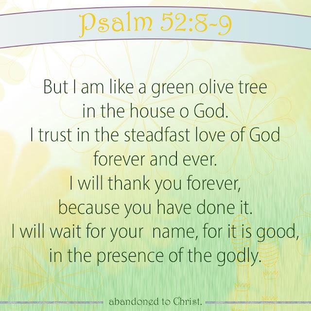 #PsalmSunday: Psalm 52