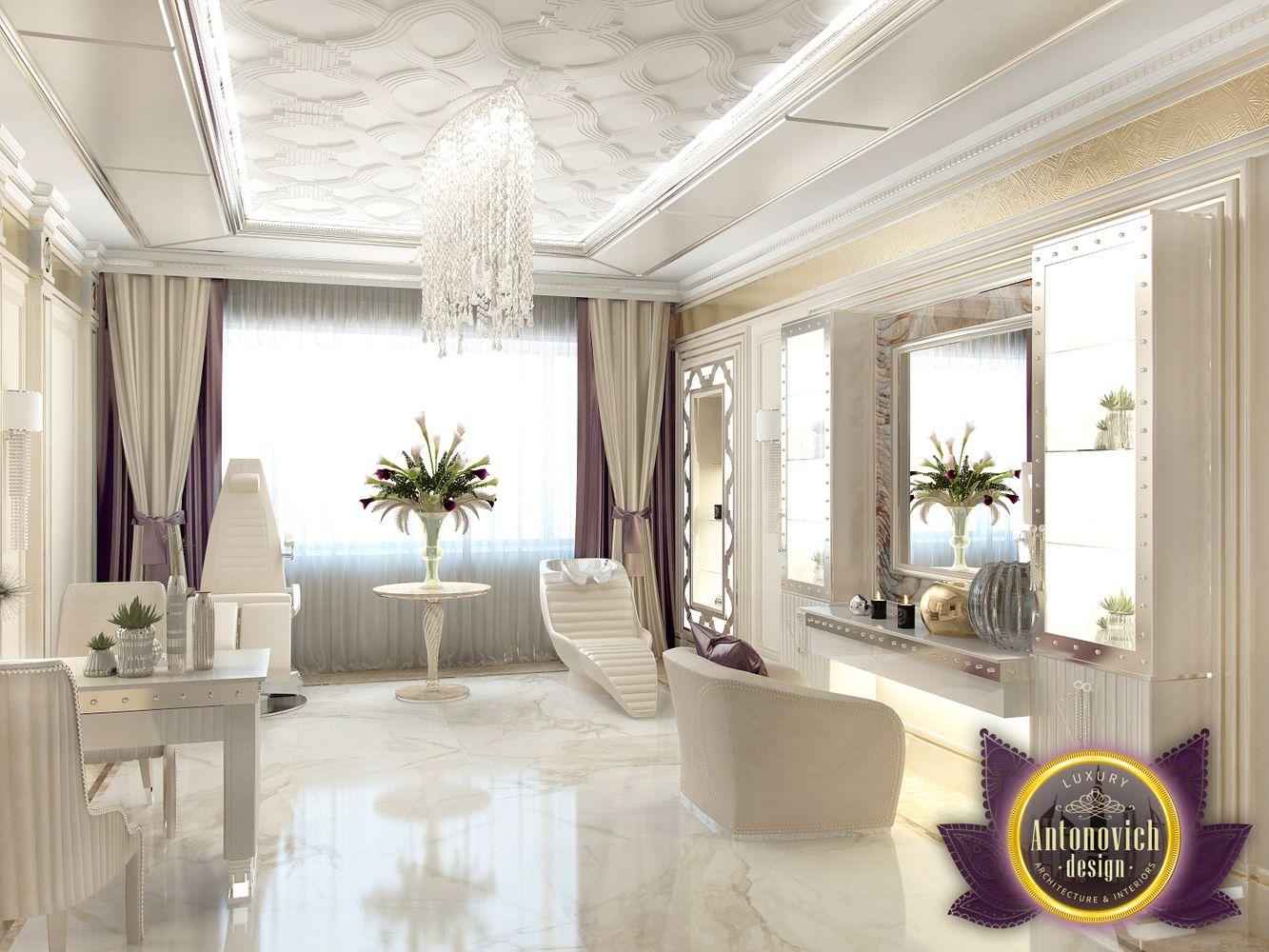 LUXURY ANTONOVICH DESIGN UAE: Design of interior beauty salon of ...