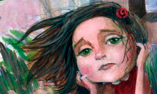 Ilustración, O soño de Esther de Luz Beloso
