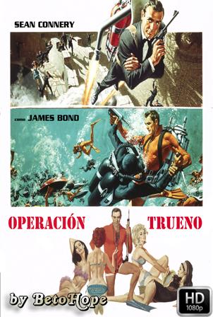 007 Operación Trueno 1080p Latino