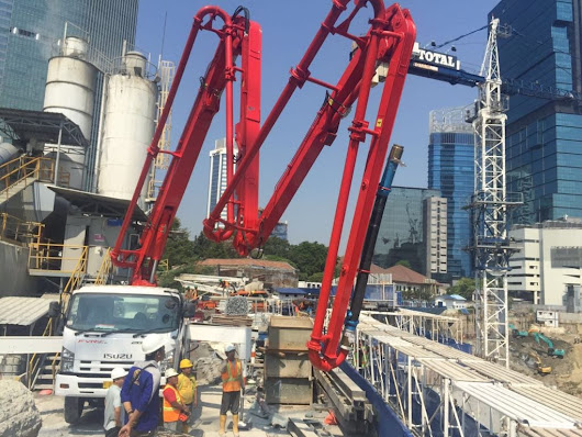 Concrete Pump Indonesia