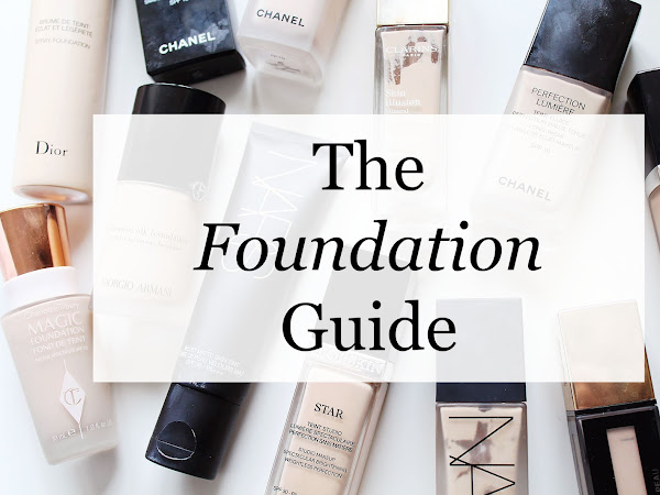My Foundation Guide: What's best for what?