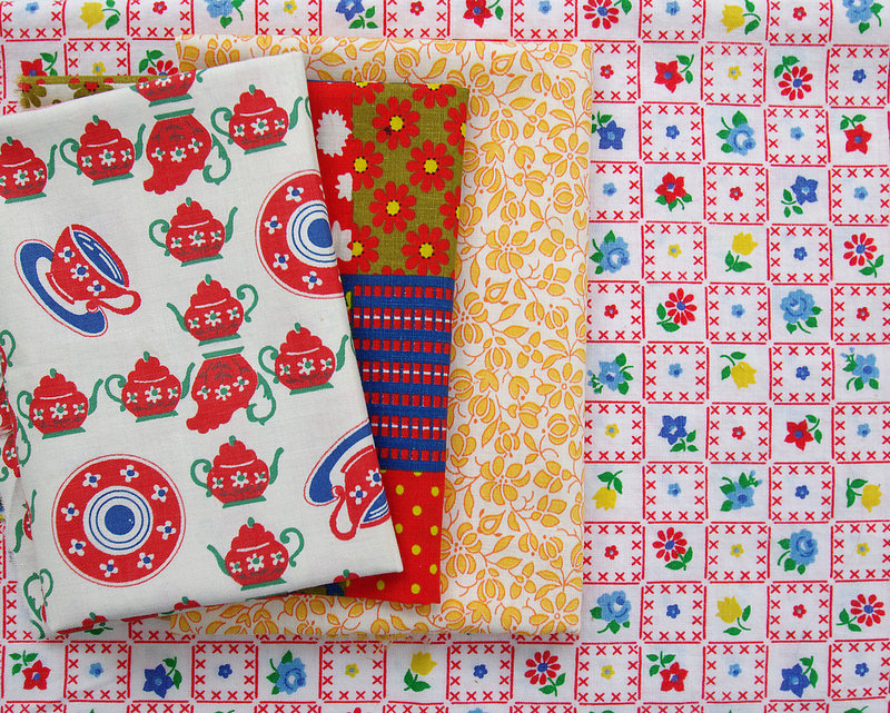 Red Pepper Quilts Sunday Stash 252 Vintage Fabrics