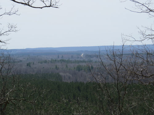 vista from the North Country Trail