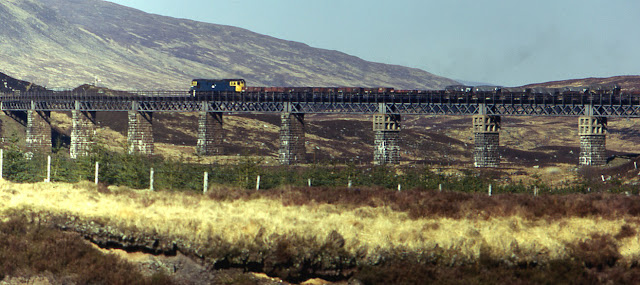 Rannoch Viaduct 1975