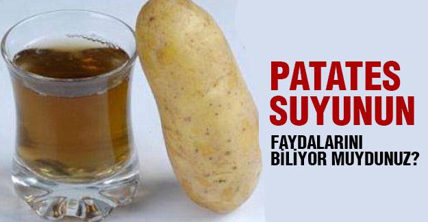 Patates Suyunun Sağlığımıza Faydaları!