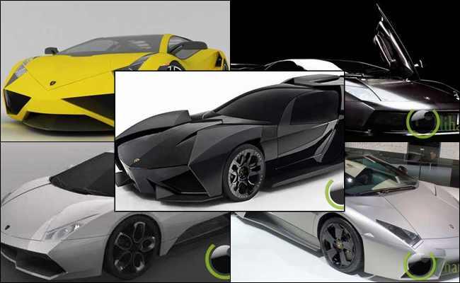 10 Konsep Mobil Lambhorgini yang paling Luar Biasa