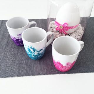 Kaffeetassen DIY Geschenk