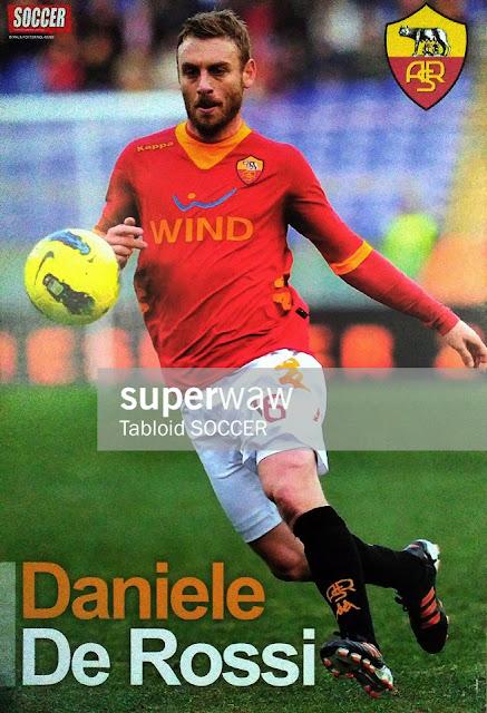 Daniele De Rossi AS Roma 2011