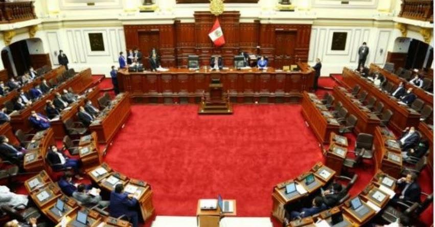 Congreso de la República modifica su reglamento para realizar sesiones del Pleno virtuales