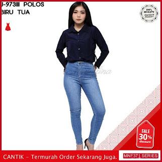 MNF371J78 Jeans Polos Wanita 973111 Denim Highwaist Skinny 2019 BMGShop