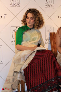 "Kangana Ranaut Pictures in Lehenga Choli at ""Between the Poet and her Pencil"" Book Launch"