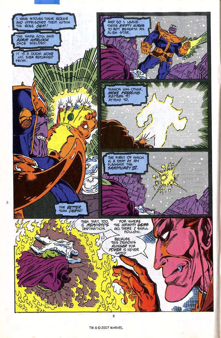 Read online Silver Surfer (1987) comic -  Issue #45 - 4