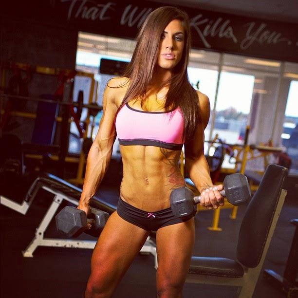 Brittany Bishop-female fitness models