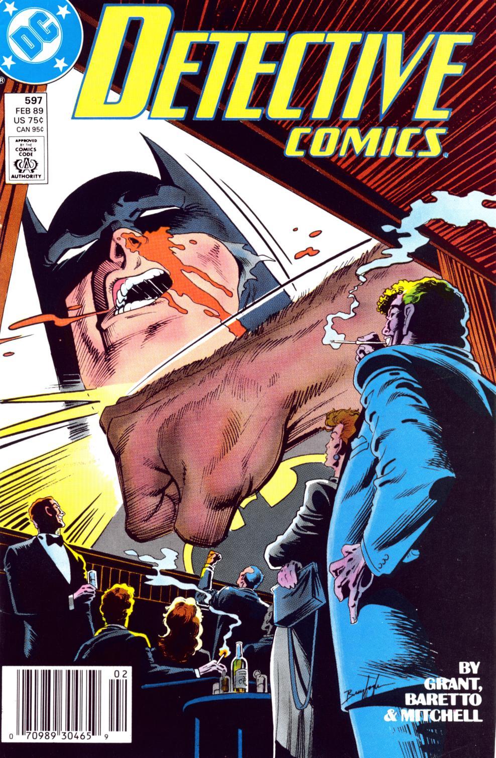 Detective Comics (1937) 597 Page 1